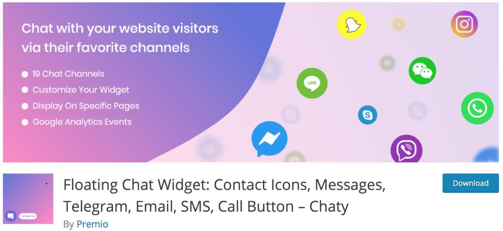 Best WhatsApp Plugins - Chaty