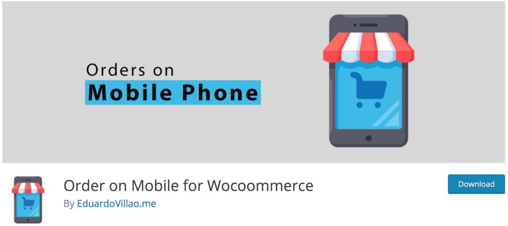 Best WhatsApp plugins - Orders on Mobile for WooCommerce