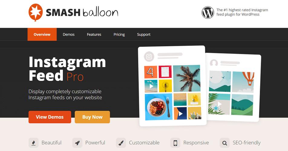 Smash Balloon, Instagram Feed plugins