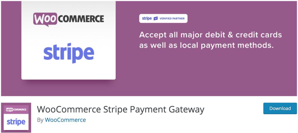 Best WooCommerce checkout plugins - Stripe Payment Gateway