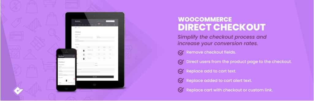 Best WooCommerce checkout plugins - Direct Checkout