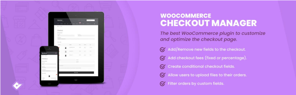 WooCommerce checkout plugins - Checkout Manager
