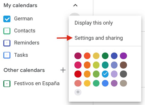 Add Google Calendar to WordPress - Calendar tips