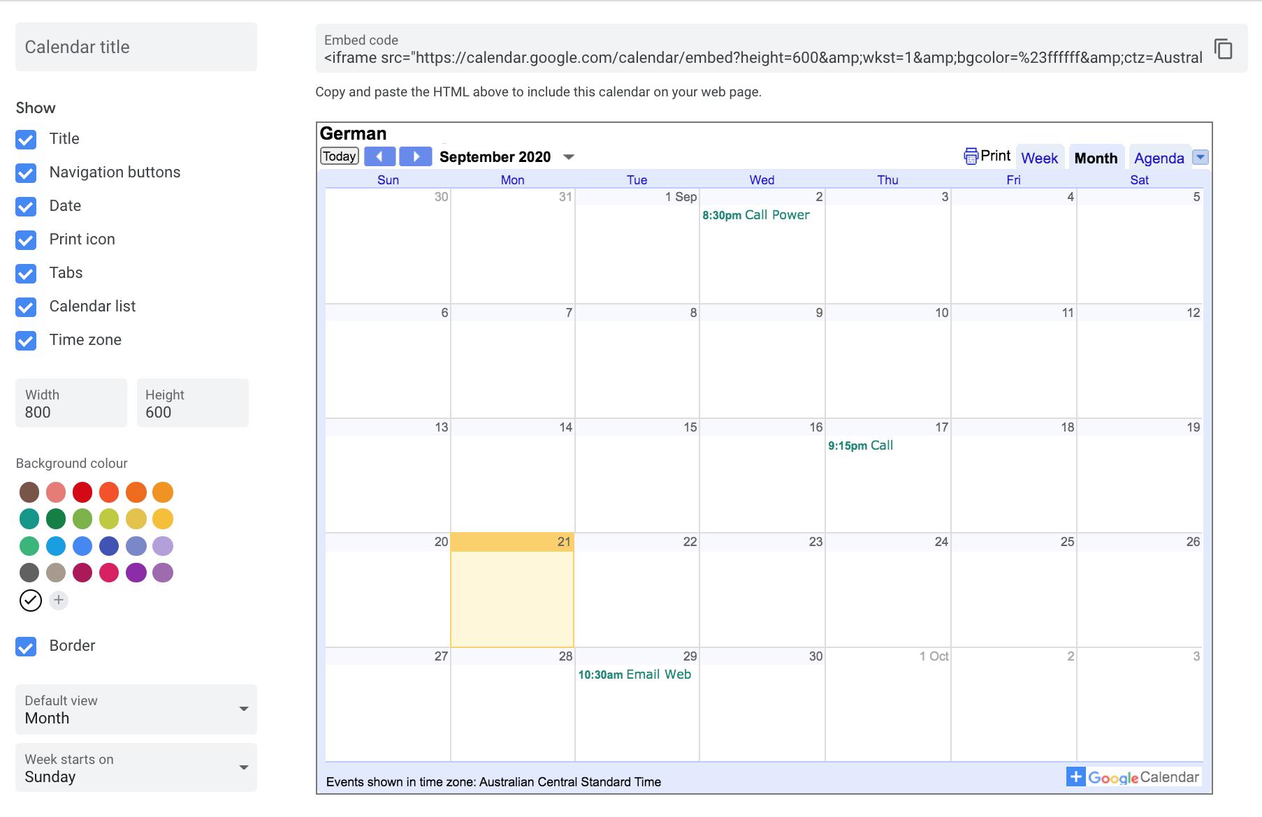 How To Embed Google Calendar In Wordpress 3 Easy Methods