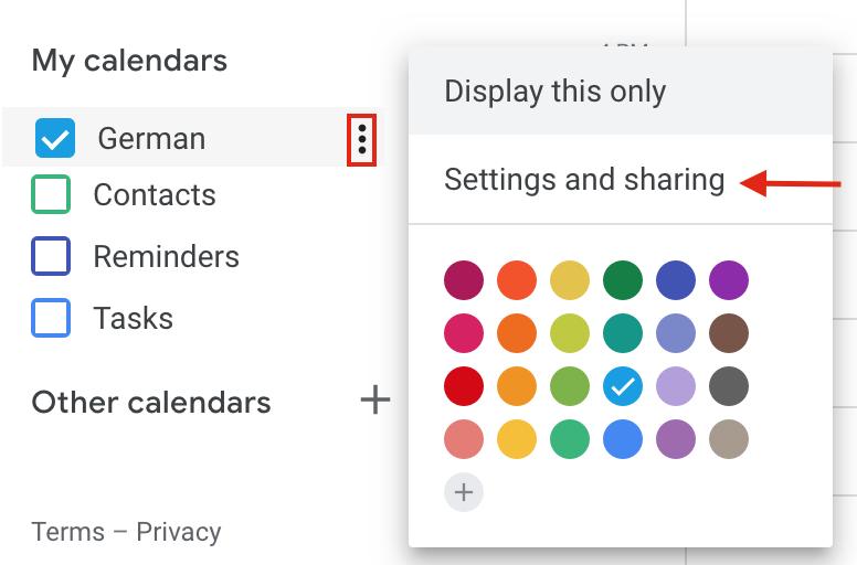 Add Google Calendar to WordPress - Embed Calendar