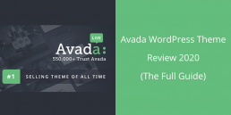 avada for WordPress review