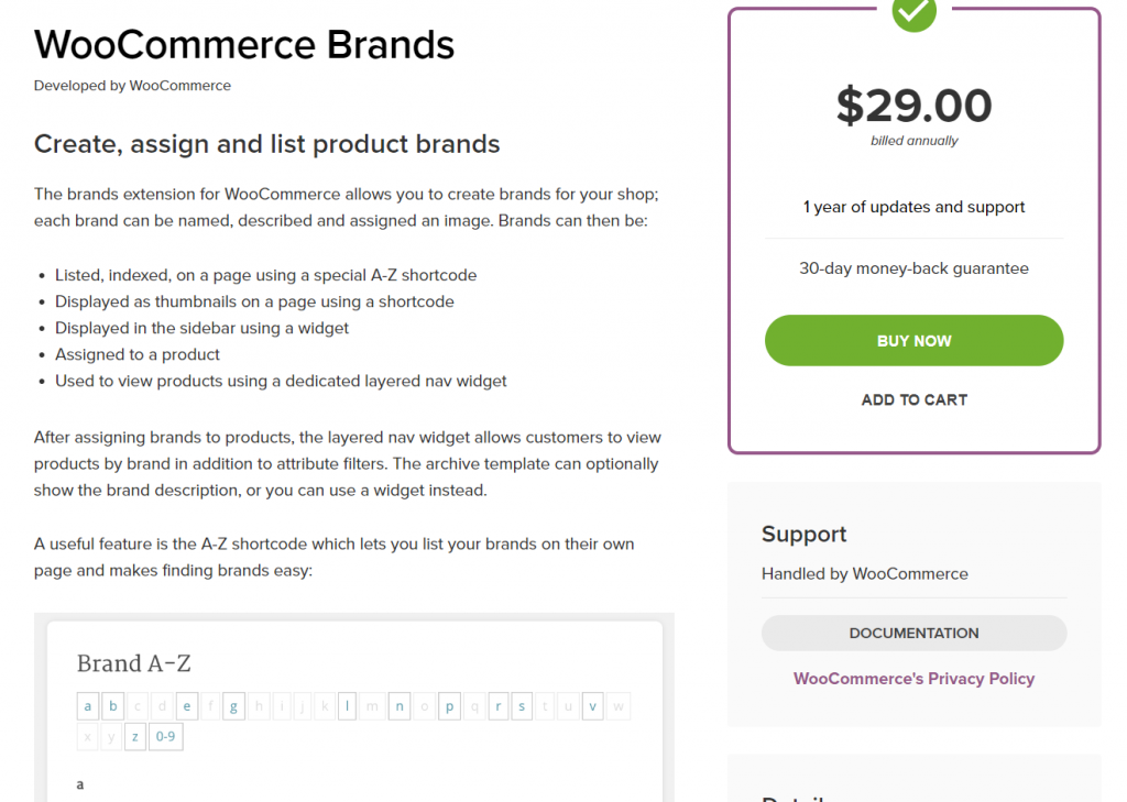 woocommerce brand plugins - WooCommerce Brands
