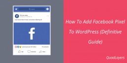 Add Facebook Pixel To WordPress