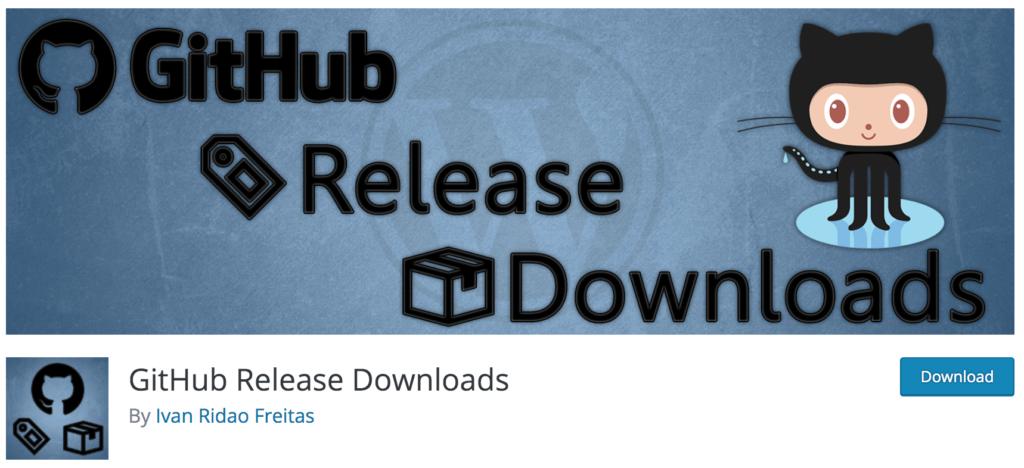 GitHub Release Downloads plugin