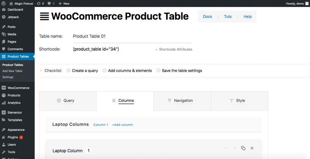 Customize WooCommerce Shop Page with a plugin