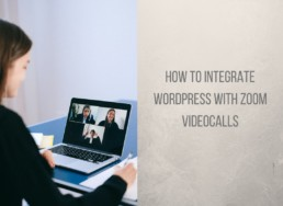 integrate wordpress with zoom - featured image