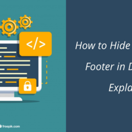 Remove Footer in Divi