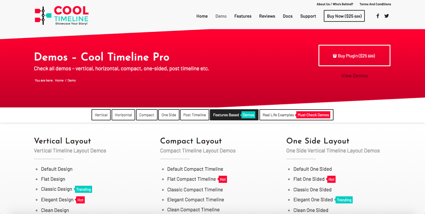 Cool Timeline one of the best timeline plugins for WordPress