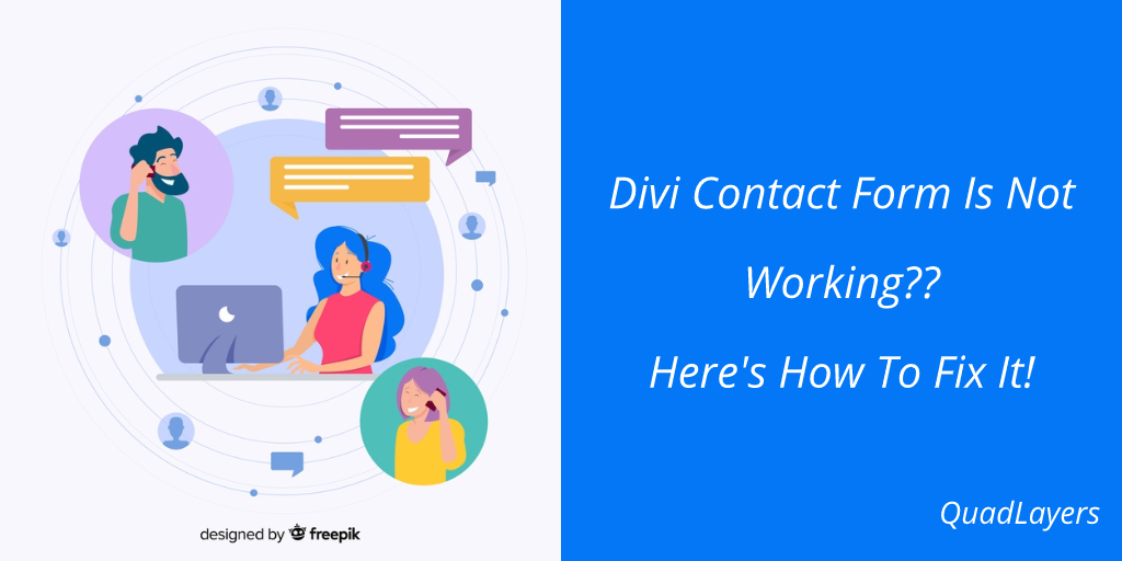 divi contact form is not working