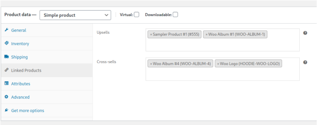 Add related products in WooCommerce