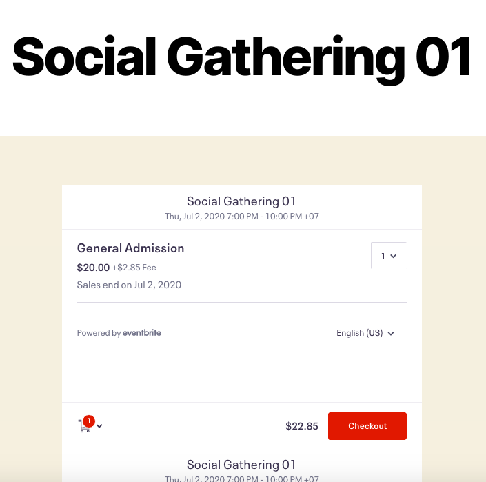 Connect Eventbrite with WordPress - Full Eventbrite checkout process