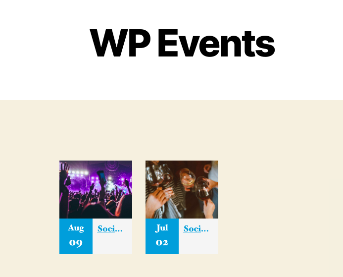 Connect Eventbrite with WordPress with plugins