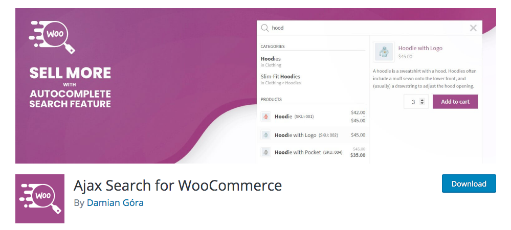 Best WooCommerce Product Search Plugins - AJAX Search