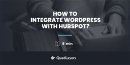 integrate wordpress with hubspot - featured image