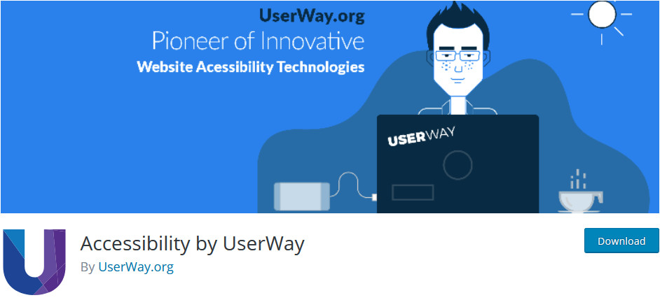 Best Accessibility Plugins for WordPress - accessibility by userway