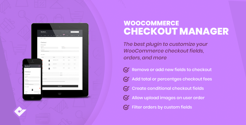 WooCommerce Checkout Field Editor Plugins - WooCommerce checkout manager