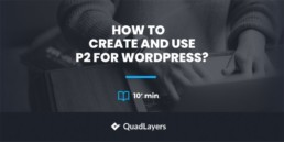 p2 for WordPress - featured image