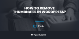 remove thumbnails in wordpress