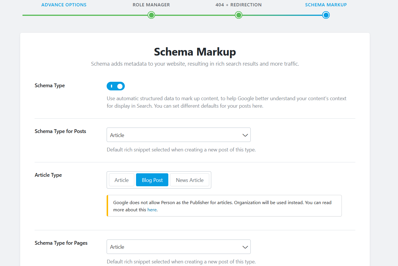How To Set Up Rank Math SEO? - Schema Markup