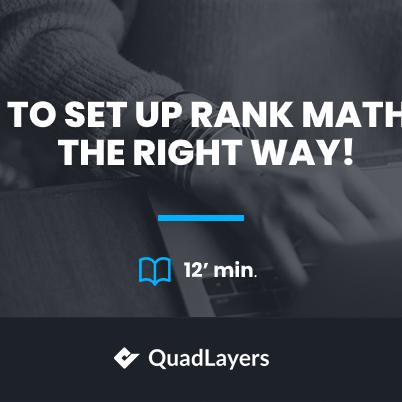 How To Set Up Rank Math SEO?