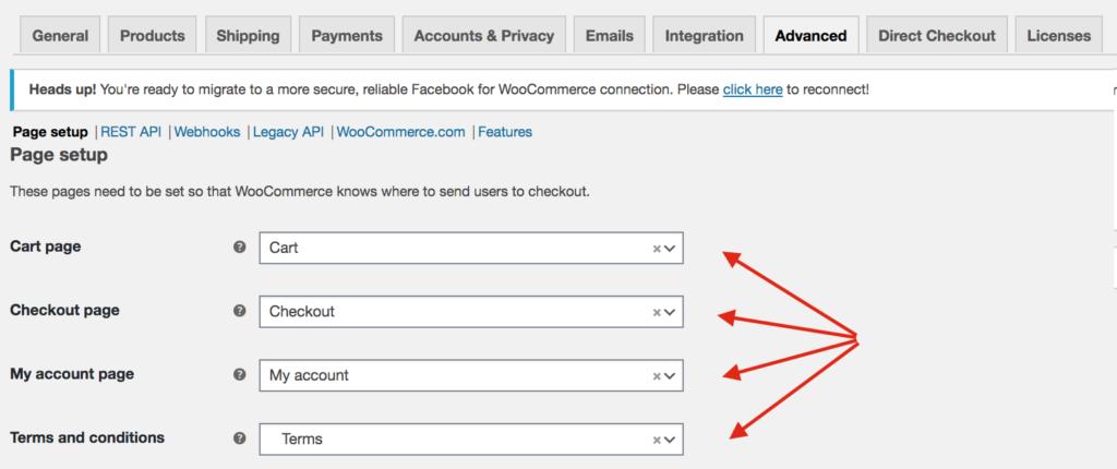 Fix WooCommerce shop page empty - Advanced configuration