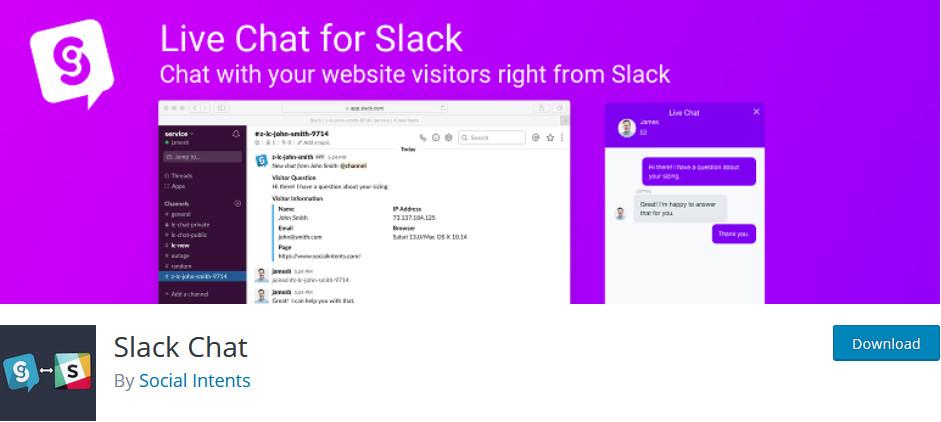 best slack plugins - slack chat