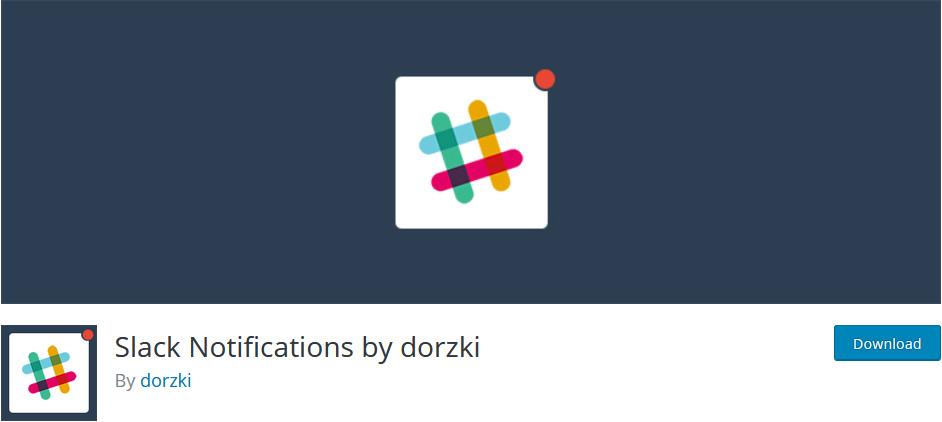 best slack plugins - slack notifications by dorzki