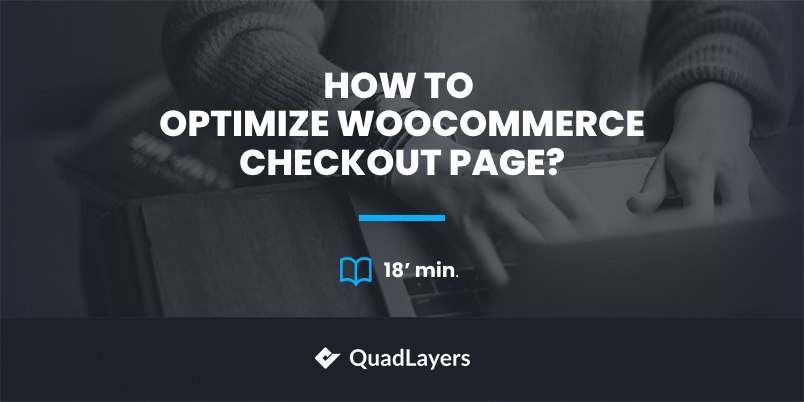 optimize WooCommerce checkout - featured image