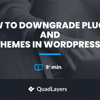 How to Downgrade Plugins and Themes in WordPress