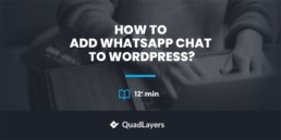 How to add WhatsApp Chat to WordPress
