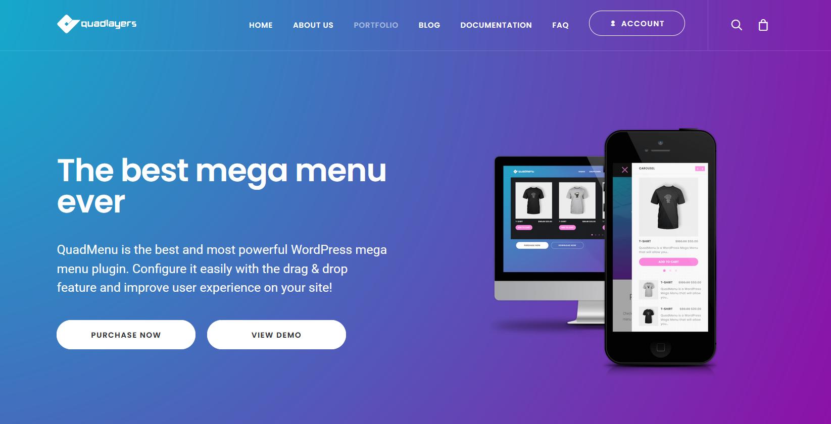 Add Social Media Icons to WordPress Menu - QuadMenu