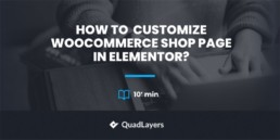 Woocommerce shop page in elementor - featured image