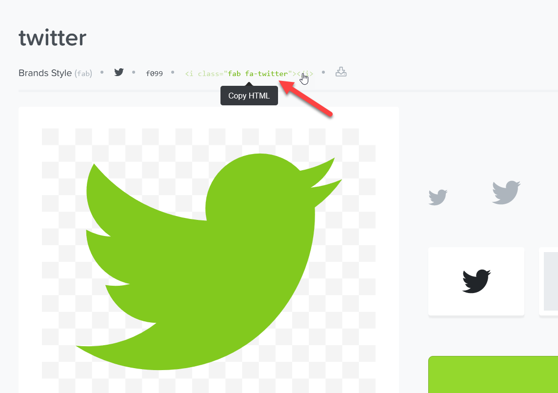 Add Social Media Icons to WordPress Menu - HTML