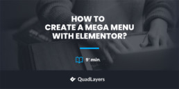 create mega menu with elementor - featured image