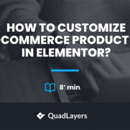 customize woocommerce product page elementor - featured image