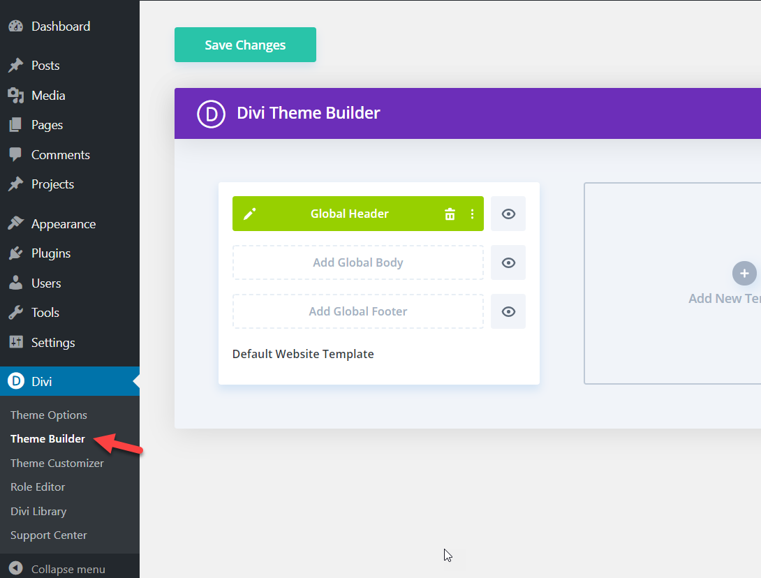 How To Make Divi Header Sticky (Step-By-Step Guide) - divi builder