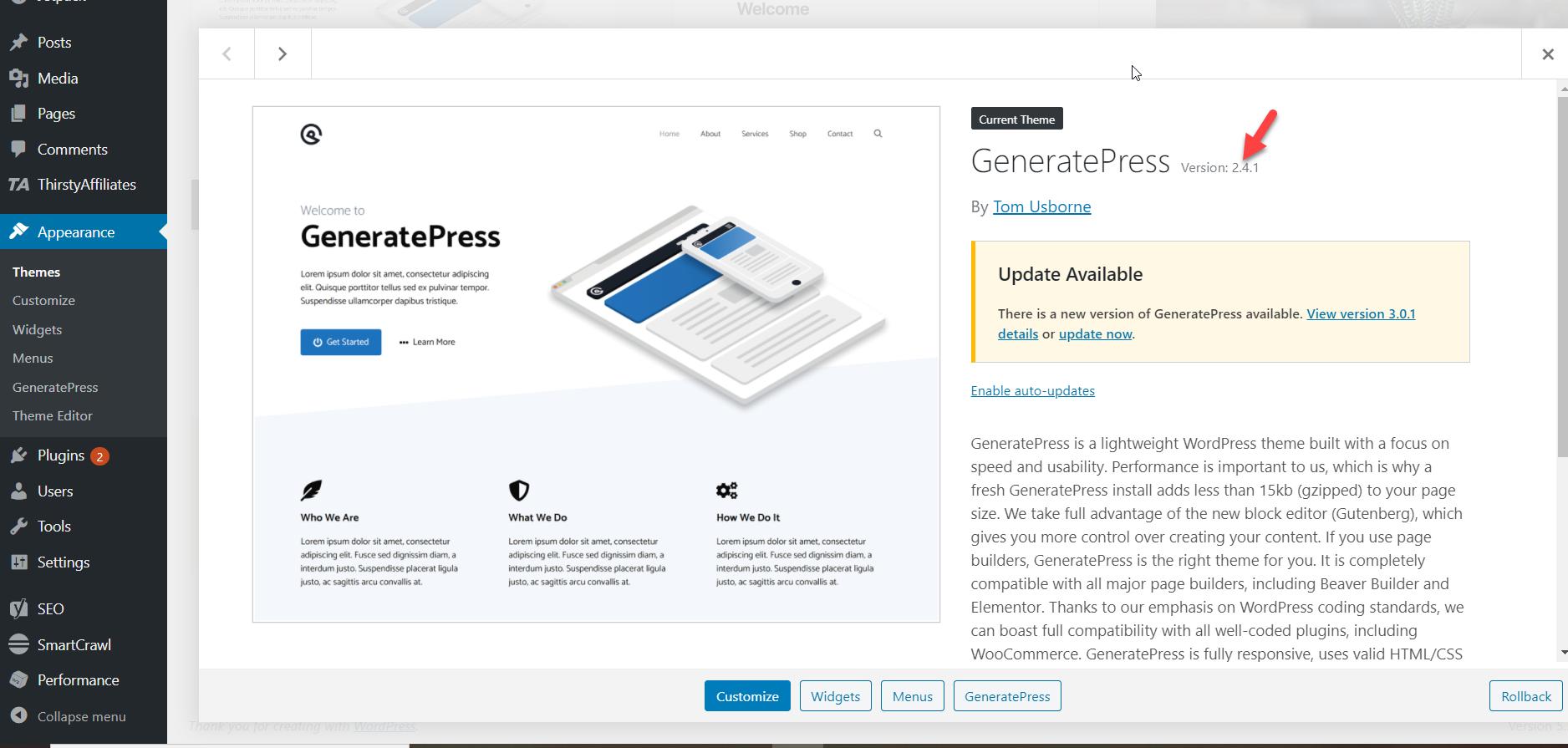 generatepress old theme files