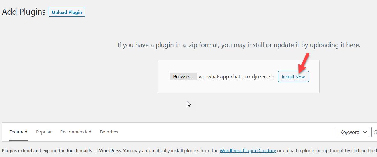 install whatsapp chat pro