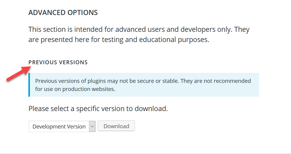 How to Downgrade Plugins and Themes in WordPress - Plugins Manually