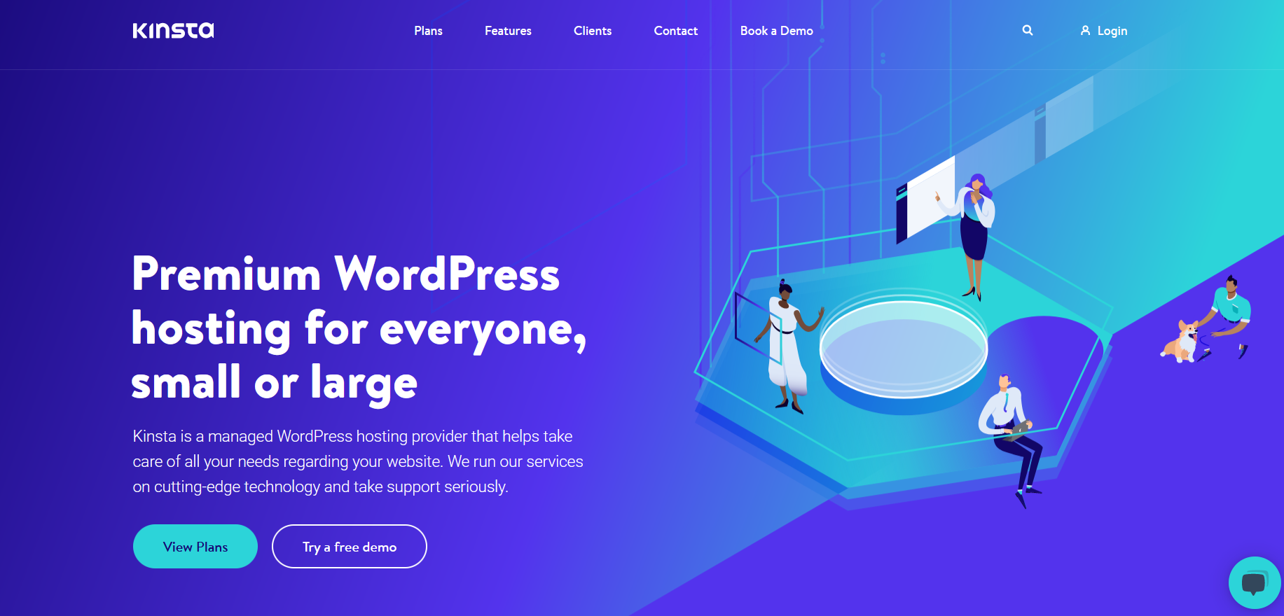 WordPress Hosting Services - kinsta
