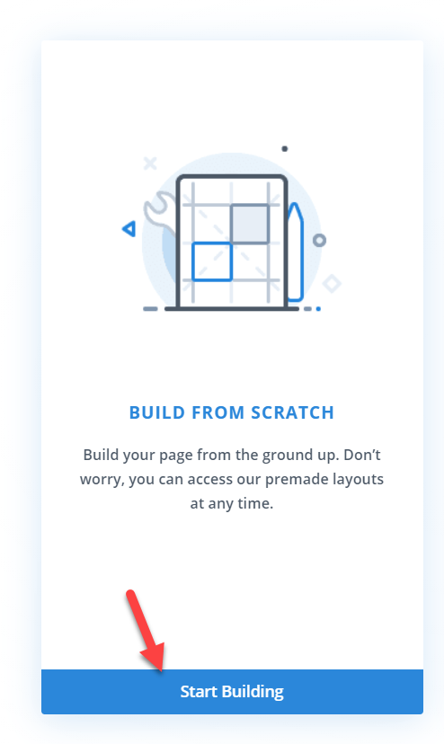 build header from scratch