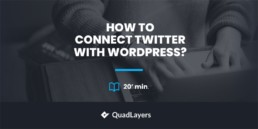 How to connect Twitter with WordPress