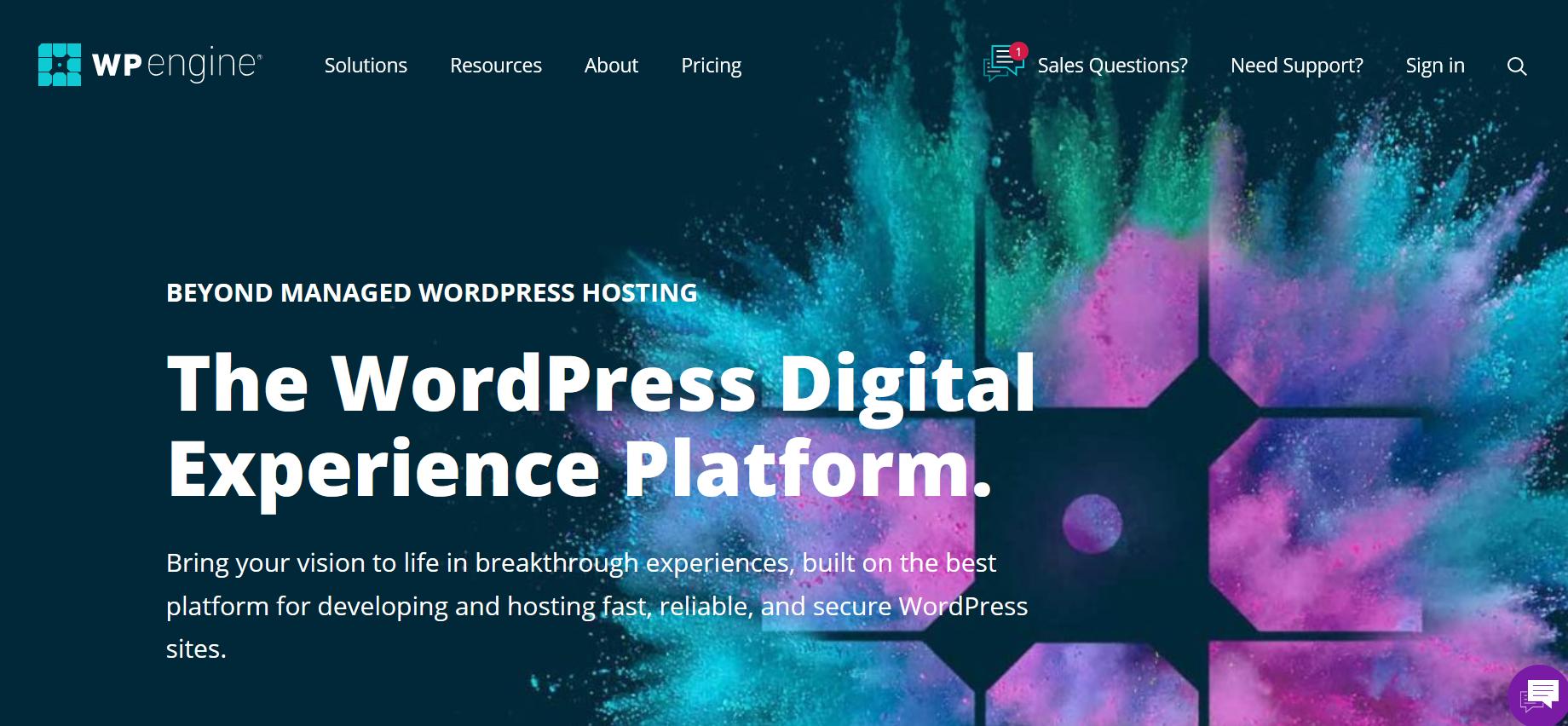 WordPress Hosting Services - wp engine