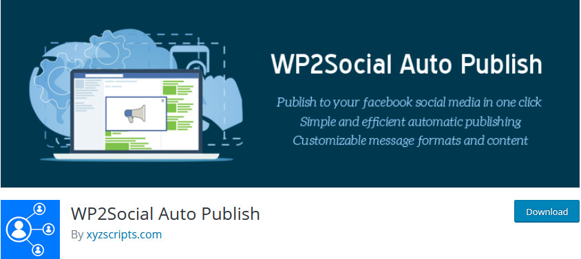Social Media Plugins for WordPress - WP auto publish
