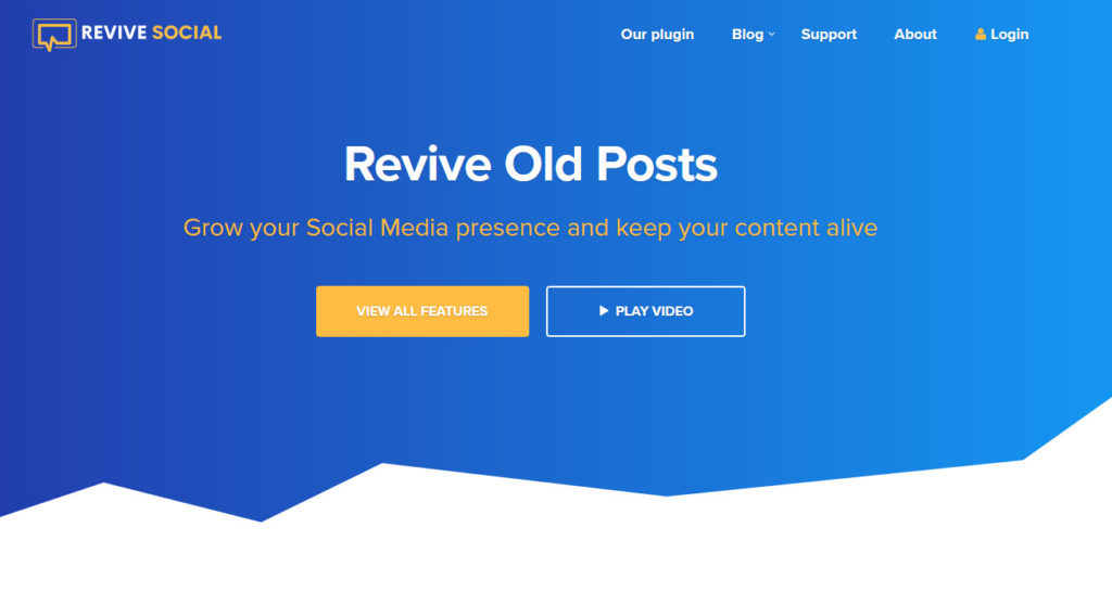 Social Media Plugins for WordPress - revive old posts